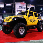 Ortech Yellow Jeep JK Wrangler Unlimited