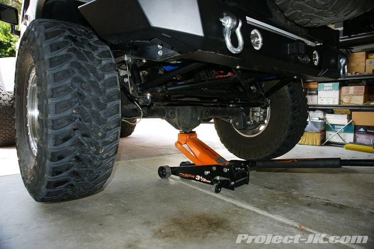 Maintenance Jeep Jk Wrangler Rear Brake Pad Replacement
