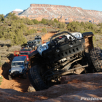 Moab Easter Jeep Safari 2009 - Day 1 Steel Bender