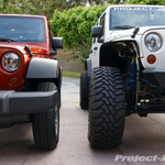 Bare Bones X vs. Built-Up Rubicon Photos