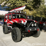 MBRP Custom Red Jeep JK Wrangler 2-Door