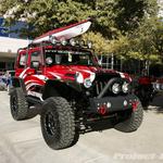 MBRP Custom Red Jeep JK Wrangler 2-Door