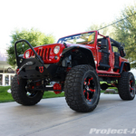 TeraFlex JPTwinz Red Jeep JK Wrangler 4-Door