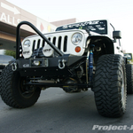 Project-JK Stone White Jeep JK Wrangler 4-Door