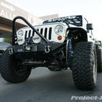Project-JK Stone White Jeep JK Wrangler 4-Door