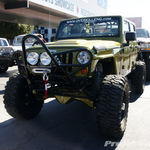 Overkill Engineering Rescue Green Jeep JK Wrangler 4-Door