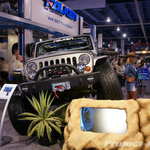 Falken Tires Custom Gunmetal Jeep JK Wrangler 4-Door