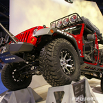 Nitto Tires Off Road Evolution Red Jeep JK Wrangler 4-Door