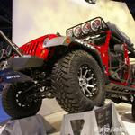 Nitto Tires Off Road Evolution Red Jeep JK Wrangler 4-Door