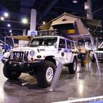 Mopar Jeep Overland White Jeep JK Wrangler 4-Door