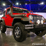 Mopar Red Jeep JK Wrangler 2-Door JK w/Snokel