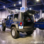 Mopar Deep Water Blue Jeep JK Wrangler 4-Door