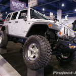 Black Rock Wheels Silver Jeep JK Wrangler 4-Door