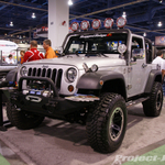 Rugged Ridge Silver Jeep JK Wrangler 2-Door