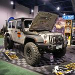 AEV Silver Jeep JK Wrangler 4-Door