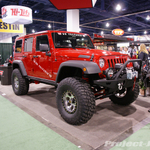 WARN Red Jeep JK Wrangler 4-Door