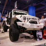 Bushwacker COP4X4 Custom White Jeep JK Wrangler 4-Door