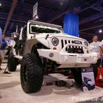 Bushwacker COP4X4 Custom White Jeep JK Wrangler 4-Door