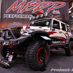 MBRP Custom White Jeep JK Wrangler 4-Door