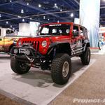 Mastercraft Seats Custom Red/Black Jeep JK Wrangler 4-Door