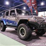 Rampage Custom Blue/Silver Jeep JK Wrangler 4-Door
