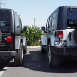 Side by Side Photos of the Jeep JK & TJ Wrangler Unlimited
