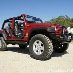 Topless & Rancho Rock Gear Tube Doors