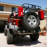 LoD Rear Shorty Bumper Tire Carrier