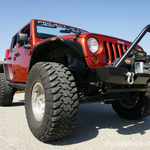 Bushwacker Flat Fenders with 37s