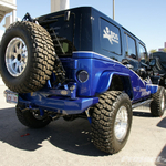 Back Country Black/Blue Custom 4-Door