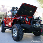 Rugged Ridge Red 4-Door JK