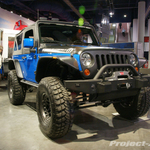 "Mopar ""The General"" 2-Door JK w/Extreme Trail Edition Camper Trailer"