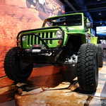 Mopar ImMORTAL Custom Green 4-Door JK