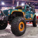 Superlift Custom Green & Orange 4-Door JK