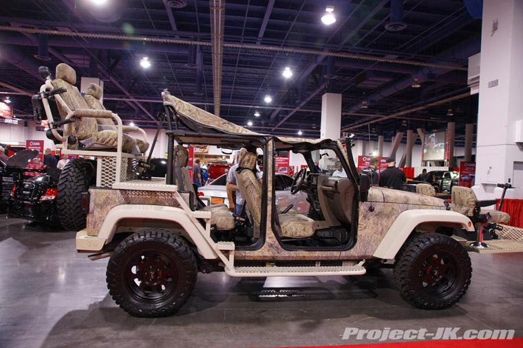 Sema 2010 Flashback Camo Hunter Jeep Jk