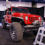 Black Rock Red 4-Door JK