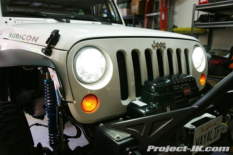 truck lite jeep jk wrangler led headlight installation write up. Cars Review. Best American Auto & Cars Review