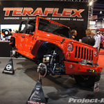 TeraFlex Red 2-Door JK & 44 Axle