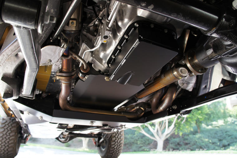 Oil pan tranny skids that work with exhaust extensions ...