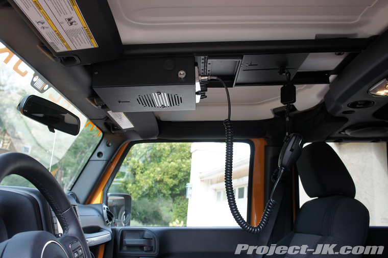 Tuffy Security Jk Overhead Cb Console Installation Write