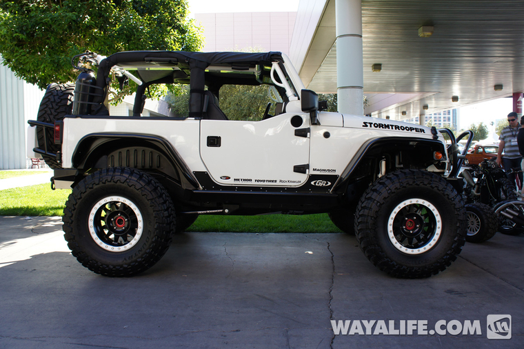 2012 sema transamerican stormtrooper 2 door jk. Black Bedroom Furniture Sets. Home Design Ideas