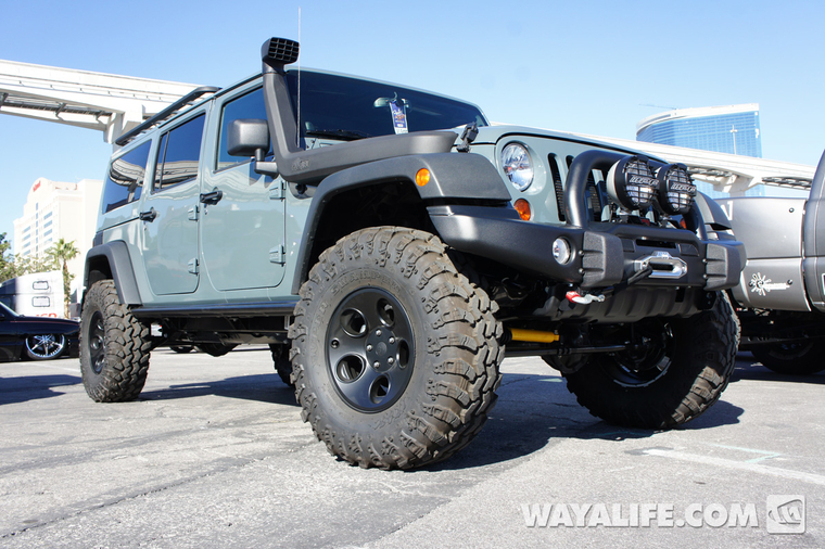 2012 SEMA AEV 6-Pack 4-Door Jeep JK Wrangler