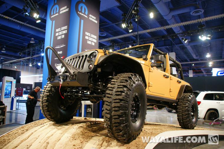 Carson City Jeep >> 2012 SEMA Mopar Sand Trooper Concept 4-Door Jeep JK Wrangler