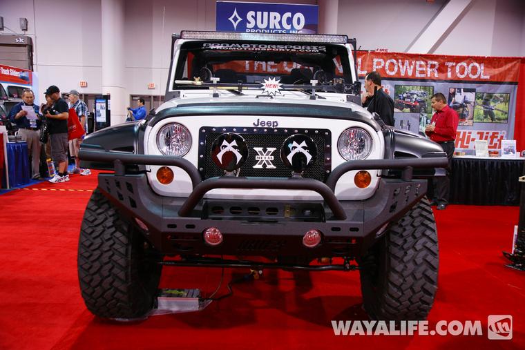 Carson City Jeep >> 2012 SEMA Hi-Lift White 2-Door Jeep JK Wrangler