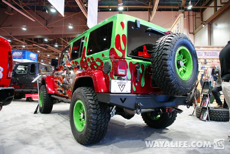 Jeep Renegade Forum >> 2012 SEMA Vwerks Soul of the Swap 4-Door Jeep JK Wrangler