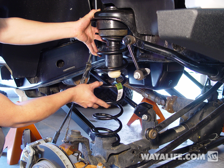 Jeep JK Wrangler 2 5″ Budget Boost Installation Write-Up