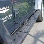 2007 Jeep JK Wrangler Unlimited Rocker Guards & Side Steps