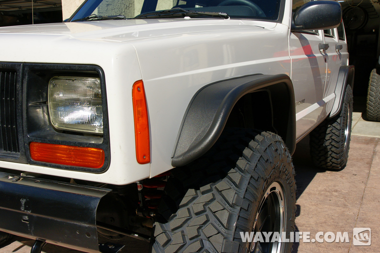 bushwacker xj cherokee fender - photo #24