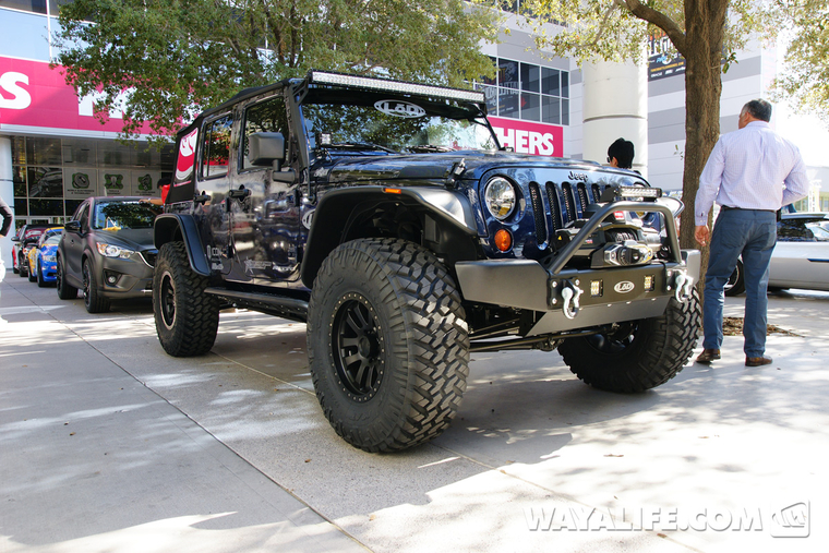 2013 Sema Lod Blue 4 Door Jeep Jk Wrangler