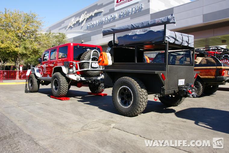 2013 Sema Afe Red 4 Door Jeep Jk Wrangler